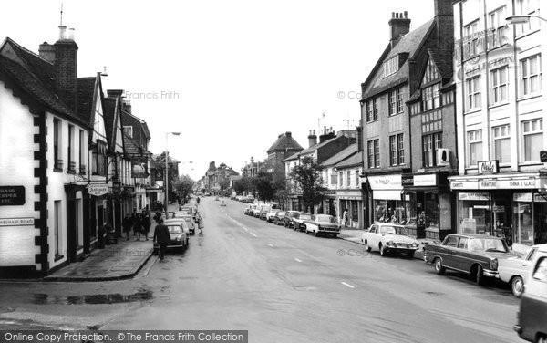 Berkhamsted, High Street c.1965
