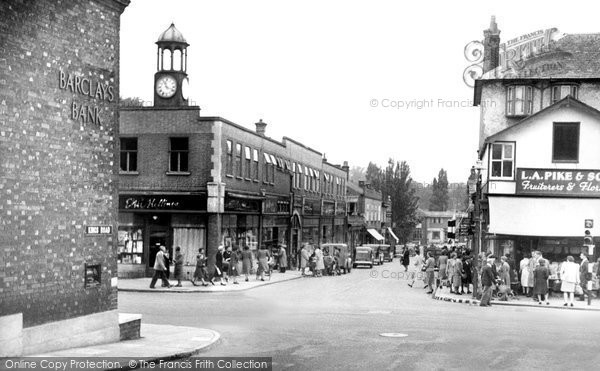 Berkhamsted, Lower Kings Road c.1955