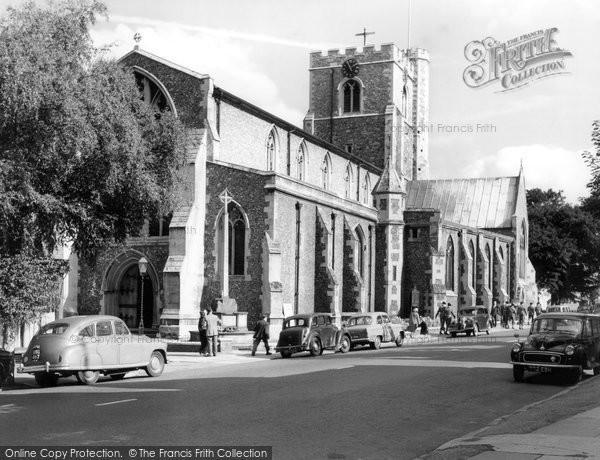 Berkhamsted, St Peter's Church c.1960
