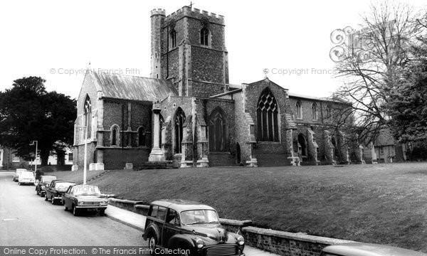 Berkhamsted, St Peter's Church c.1965