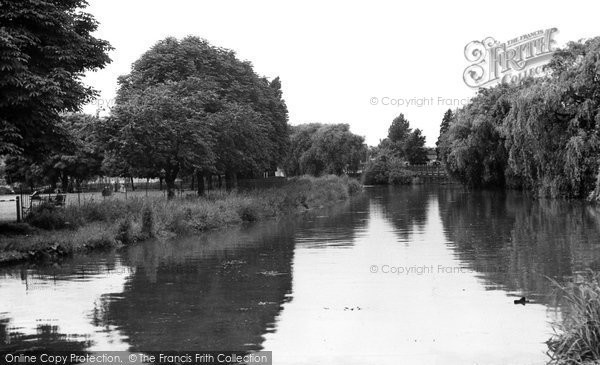 Berkhamsted, The Canal c.1955