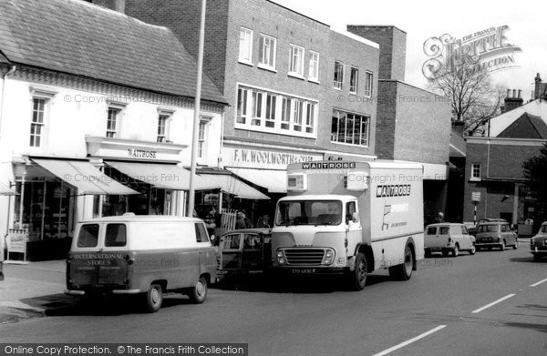 Berkhamsted, Vans, High Street c.1965