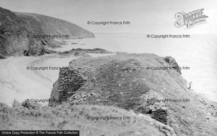 Berriedale, Berriedale Castle 1952