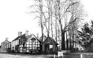 Berriew, the Lychgate c1955