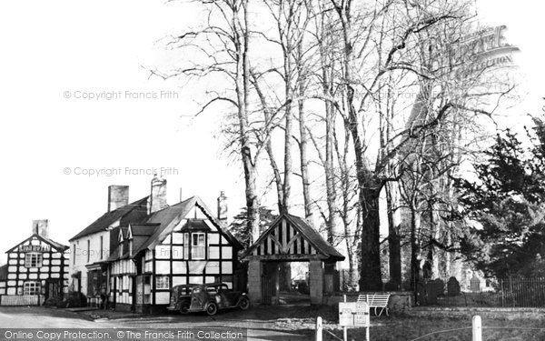 Photo of Berriew, the Lychgate c1955