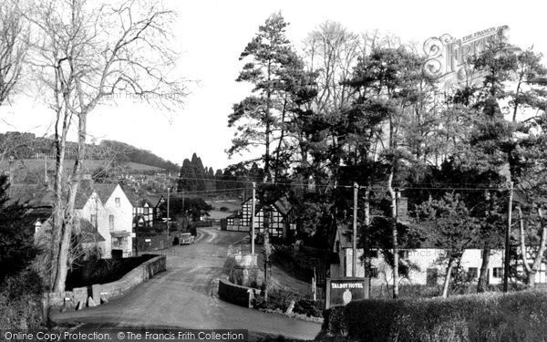 Berriew, The Village c.1950