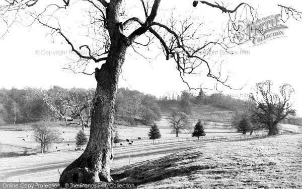 Berriew, Vaynor Park c.1955