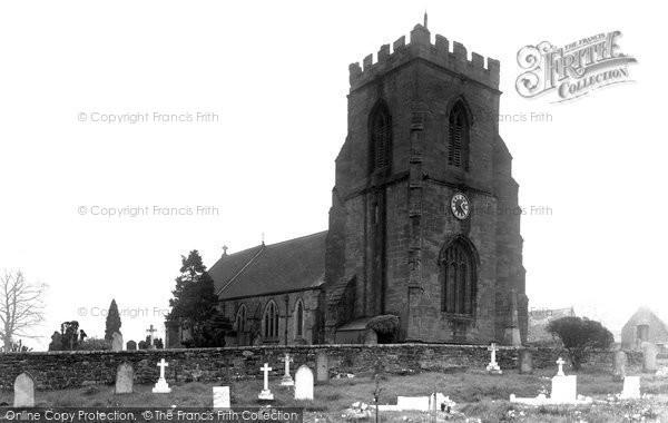 Berrington, All Saints Church c.1955