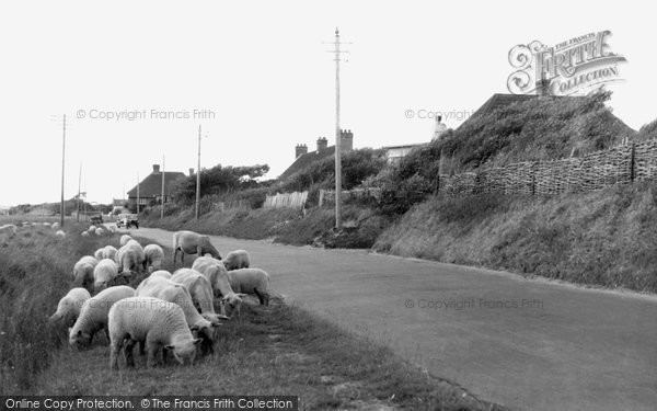 Berrow, Coast Road c.1950