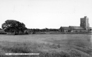 Berrow, Golf Links And Church c.1960