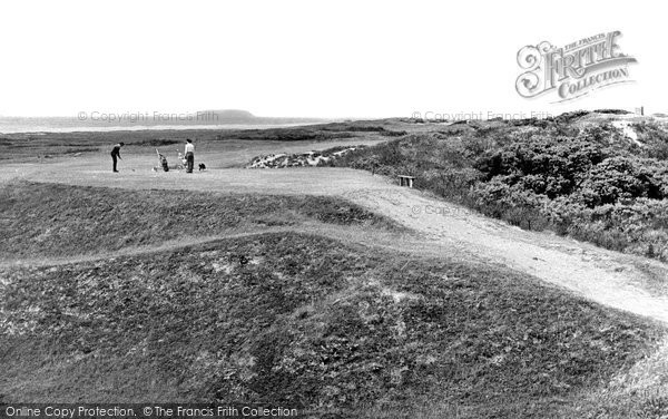 Berrow, Golf Links c.1960