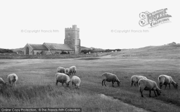 Berrow, St Mary's Church c.1950