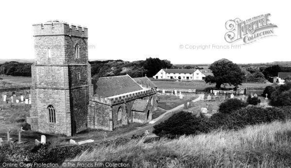 Berrow, St Mary's Church c.1955