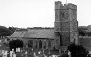 Berrow, The Church c.1950