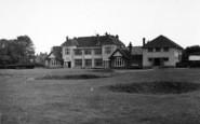 Berrow, The Club House, Golf Links c.1955