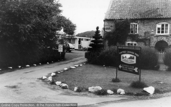 Berrow, The Entrance, Yew Tree Caravan Park c.1960