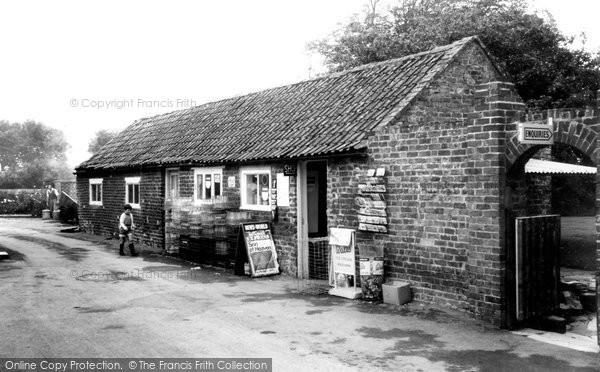 Berrow, The Shop, Yew Tree Caravan Park c.1960