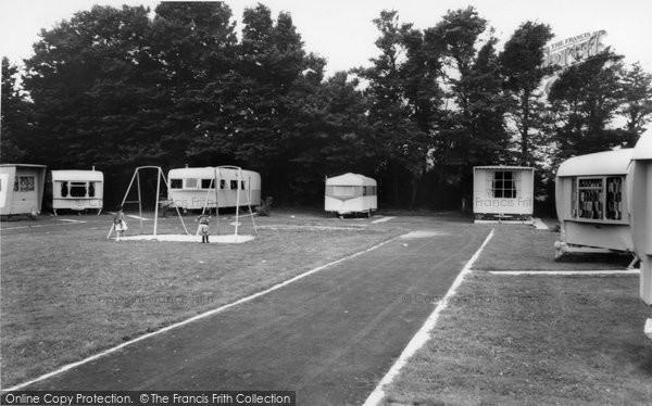 Berrow, Yew Tree Caravan Park c.1965