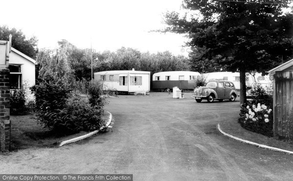 Berrow, Yew Tree Caravan Site c.1960