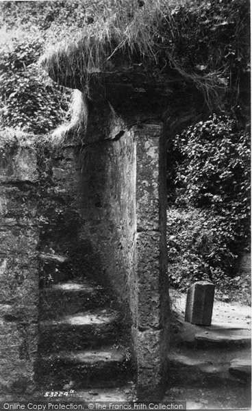 Berry Pomeroy, Castle, Lady Margaret's Tower 1905
