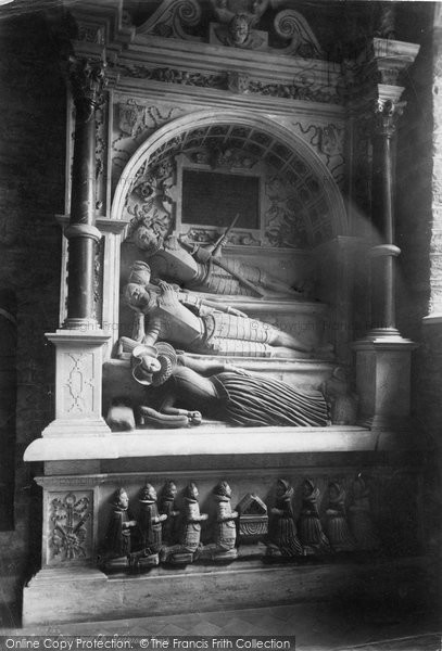 Berry Pomeroy, Church, Seymour Tomb 1889