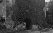 Berry Pomeroy, The Castle c.1930