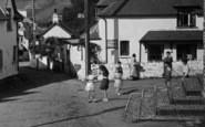 Berrynarbor, Mrs Toms Tea Rooms 1940