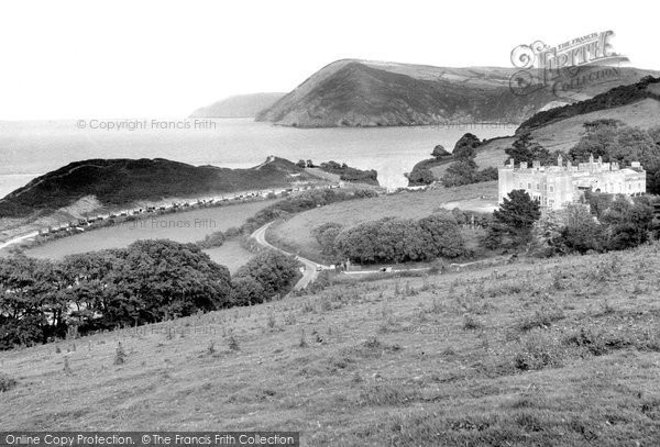 Berrynarbor, The Bay And Watermouth Valley c.1955