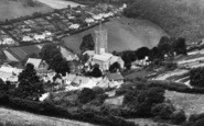 Berrynarbor, Village And St Peter's Church 1934