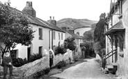 Berrynarbor, Village Street 1911