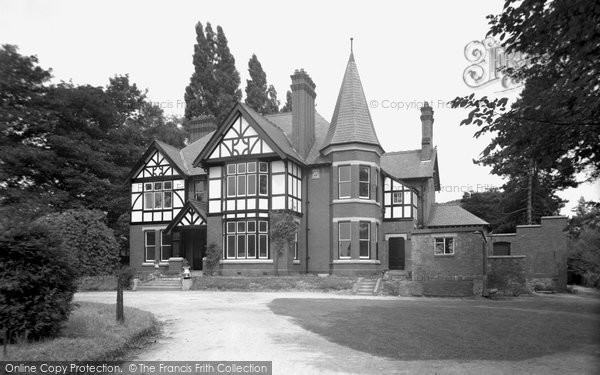 Bersham, Bersham Hall 1952