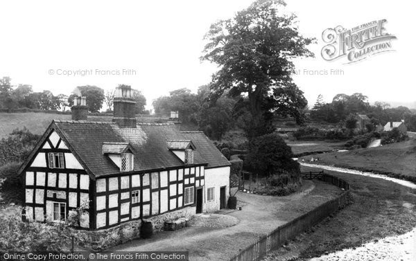 Photo of Bersham, Bridge House c1936