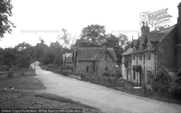 Bersham, Mill Terrace 1936