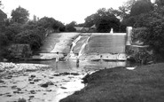 Bersham, Waterfall c.1936