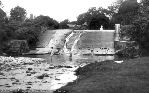 Photo of Bersham, Waterfall c1936