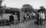 Berwick, Drusilla's Park, The Miniature Railway c.1955