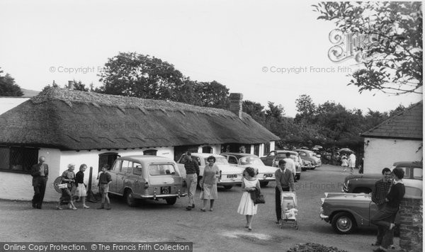 Berwick, Drusilla's Park, The Thatched Tea Barn c.1965
