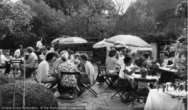 Berwick, Drusillas Park, The Old English Tea Garden c.1965