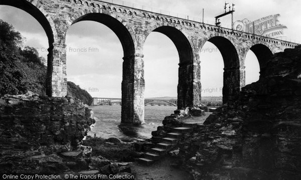 Berwick Upon Tweed, The Border Bridge 1954