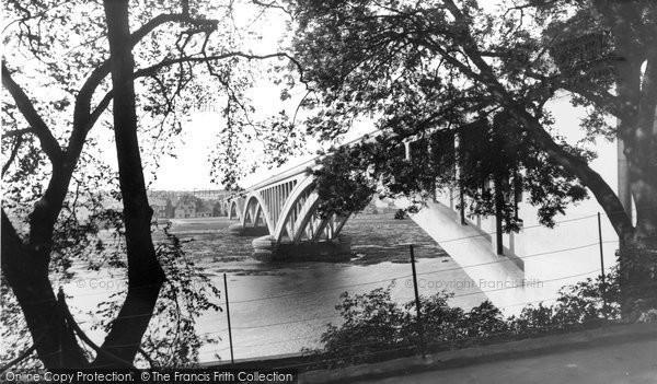 Berwick Upon Tweed, The Royal Tweed Bridge c.1955