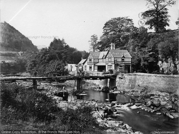 Berwyn, Chain Bridge Hotel c.1863