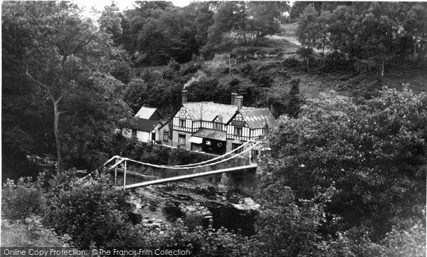 Berwyn, Chain Bridge Hotel c.1955