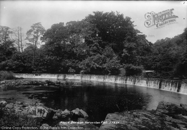 Berwyn, Horseshoe Fall 1901