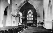 Betchworth, The Church Interior 1886