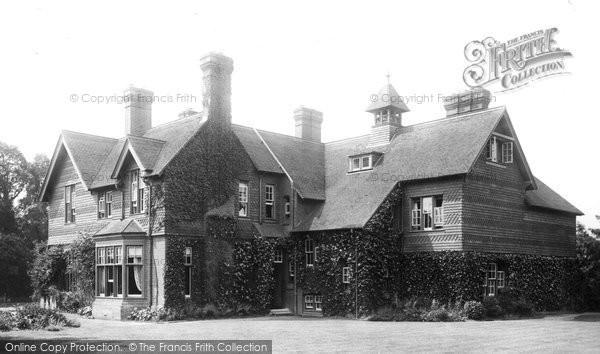 Betchworth, Vicarage 1907
