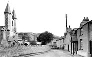Betws Abergele, The Church And Wheatsheaf Hotel c.1955