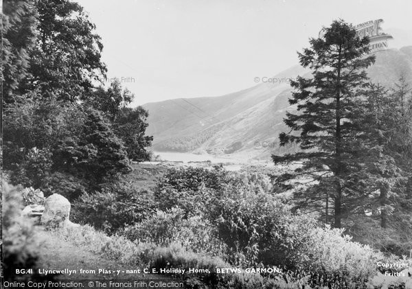 Betws Garmon, Llyncwellyn From Plas Y Nant Ce Holiday Home c.1950