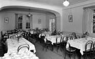 Betws Garmon, The Dining Room Plas Y Nant Ce Holiday Home c.1950