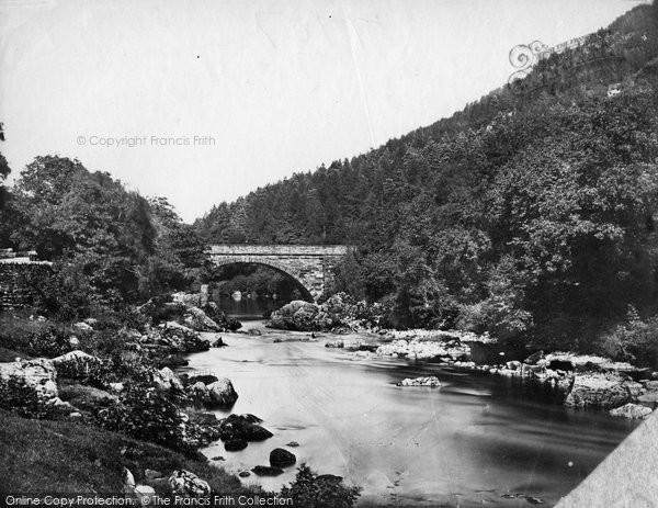 Betws Y Coed, Beaver Bridge c.1875