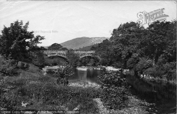 Betws Y Coed, Bridgeabove Swallow Falls c.1876